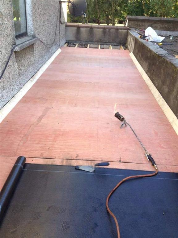 Roofing Felt Installation : Felt roofs blackrock installation repairs garage