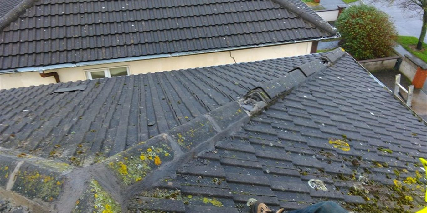 Resetting Roof Tiles Resetting Roof Tiles Resetting Ridge